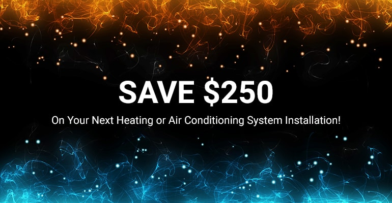 Heating & Air Conditioning Installation Special | William C. Fox Heating & Air Conditioning | Burlington County, NJ