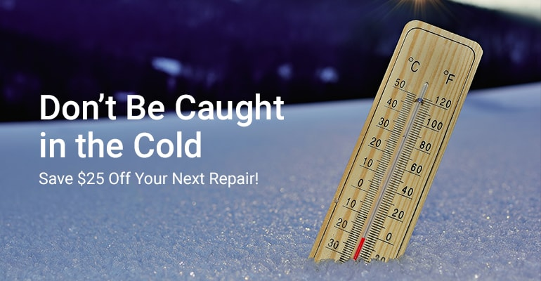 Heating & Air Conditioning Repairs Special | William C. Fox Heating & Air Conditioning | Burlington County, NJ